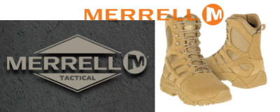 Merrell Tactical hiking boot/boot included in our range